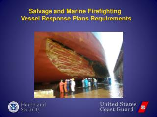 Salvage and Marine Firefighting  Vessel Response Plans Requirements