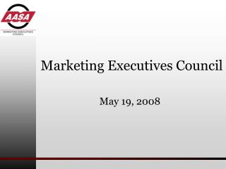 Marketing Executives Council