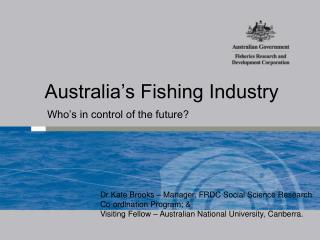 Australia's Fishing Industry