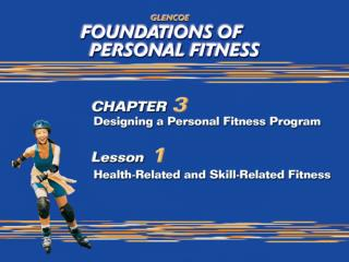 Health-Related Fitness vs. Skill-Related Fitness