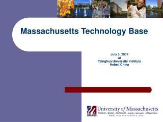 Massachusetts Technology Base