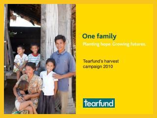 Tearfund's harvest campaign 2010
