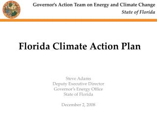 Florida Climate Action Plan