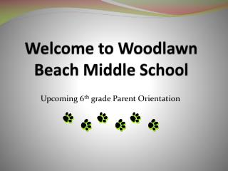 Welcome to Woodlawn Beach Middle School