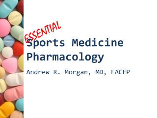 Sports Medicine Pharmacology