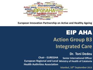 Chair  - EUREGHA  European  Regional  and  Local Health  Authrities Association