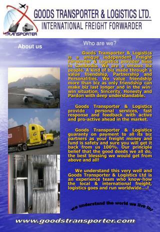 www.goodstransporter.com