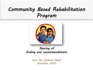 Sharing of  finding and recommendations