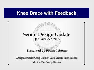 Knee Brace with Feedback