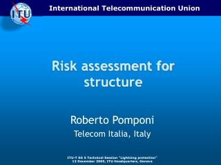 Risk assessment for structure