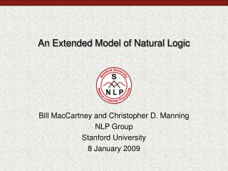 An Extended Model of Natural Logic
