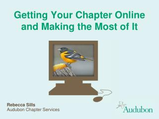 Getting Your Chapter Online and Making the Most of It