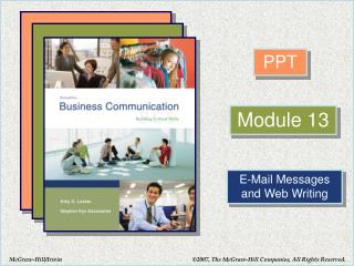 E-Mail Messages and Web Writing