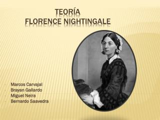 teoría  Florence nightingale