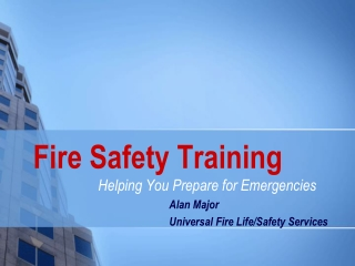 Building Representative Safety Training