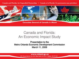 Canada and Florida:  An Economic Impact Study