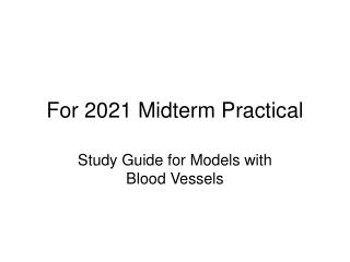 For 2021 Midterm Practical