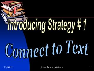 Introducing Strategy # 1