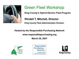 Green Fleet Workshop