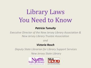 Library Laws You Need to Know