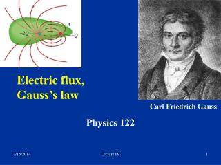 Electric flux,  Gauss's law