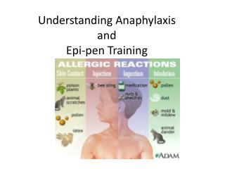 Understanding Anaphylaxis  and  Epi-pen Training