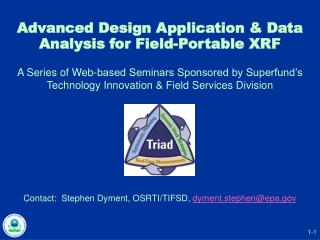 Advanced Design Application & Data Analysis for Field-Portable XRF