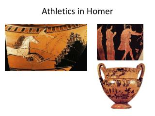 Athletics in Homer