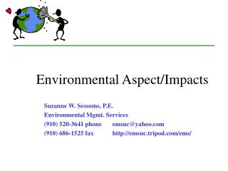 Environmental Aspect/Impacts