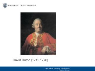 La Credenza Hume : David hume edimburgo ppt video online scaricare