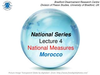 National Series Lecture 4  National Measures Morocco
