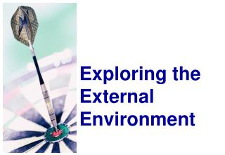 Exploring the External Environment
