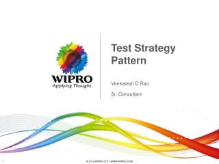 Test Strategy Pattern
