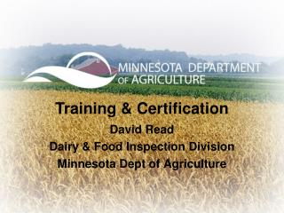 Training  & Certification