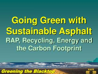 Greening the Blacktop