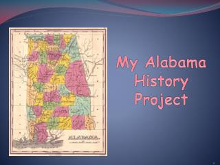My Alabama History Project