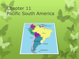 Chapter 11 Pacific  S outh  A merica