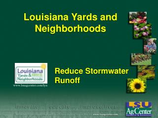 Louisiana Yards and Neighborhoods