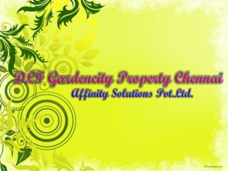 Dlf garden city chennai    09999620966    dlf properties che