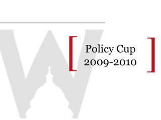 Policy Cup 2009-2010