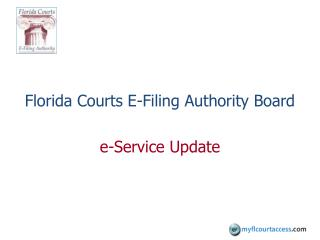 Florida Courts E-Filing Authority Board