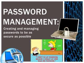 Password Management:
