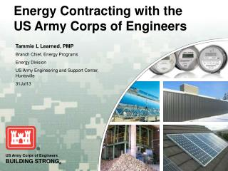Energy Contracting with  the US Army Corps of Engineers