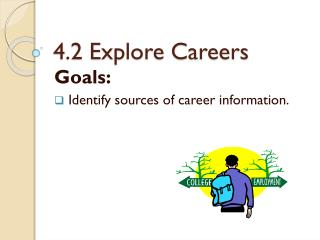 4.2 Explore Careers
