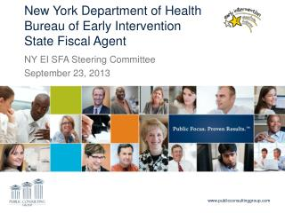New York Department of Health Bureau of Early Intervention State Fiscal Agent