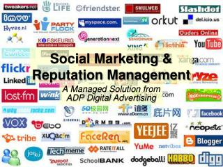 Social Marketing & Reputation Management