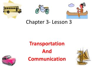 Chapter 3- Lesson 3