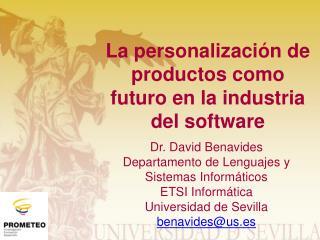 La  personalización  de  productos como futuro  en la  industria  del software