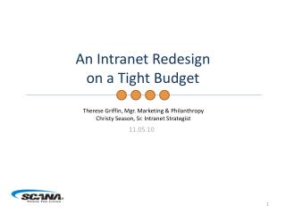 An Intranet Redesign on a Tight Budget