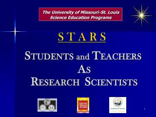 The  University of Missouri-St. Louis Science Education Programs